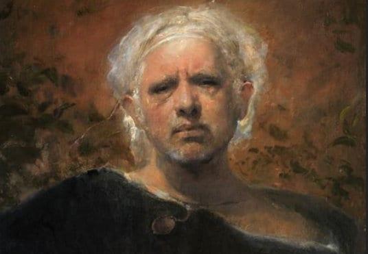 Odd Nerdrum hyllest til en levende legende: Hanne Herland