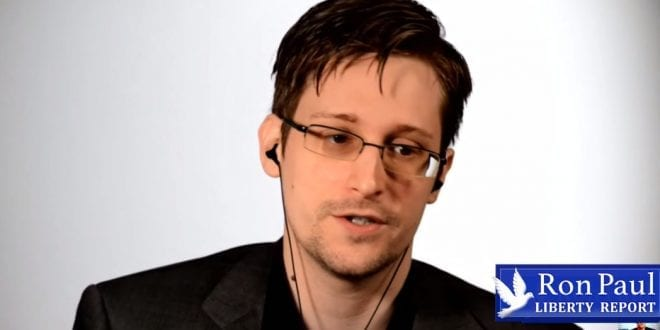 Edward Snowden: The greatest redistribution of power since Industrial Revolution Herland Report