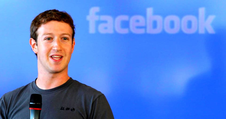 Facebook Mark Zucherberg