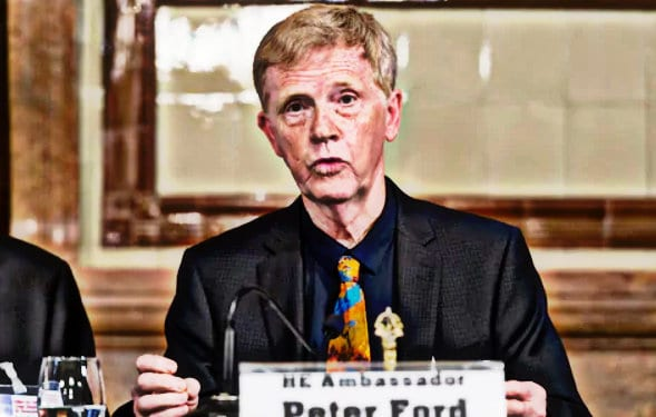 British ambassador to Syria, Peter Ford has been among those vocal in the Syrian crisis, criticizing the US stance.