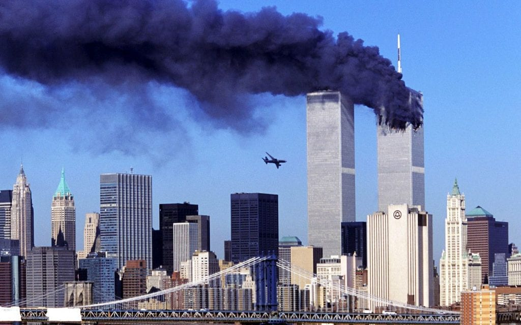 The 9/11 Attacks: Understanding the Fall-Out from America's Secret War:9/11: 9/11 World Trade Center attack 2001 Getty Herland Report