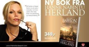 """Intervju med dansk avis om boken """"Det nye Babylon"""" SENSURERT av Facebook: Iben Thranholm"""