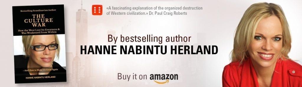The Culture War Hanne Nabintu Herland Donald Trump for Nobel Peace Prize 2019: