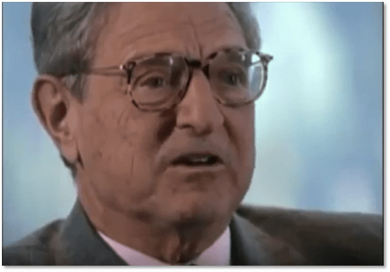 George Soros in 60 minutes show