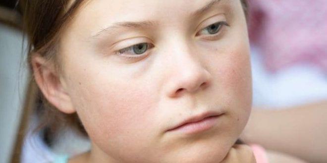 Greta Thunberg public child abuse Herland Report Getty