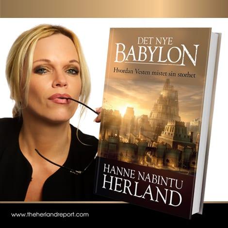 Det Nye Babylon bok Hanne Nabintu Herland Lever vi i folkestyre eller i oligarki