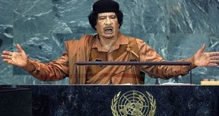 Muammar Gaddafi Libya: Muammar Gaddafi in the UN AP Herland Report