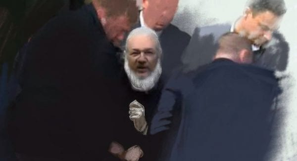 Julian Assange Ruptly Catelyn Johnston