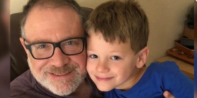 Texas transgender orthodox Jeffrey Younger and son James.jpg