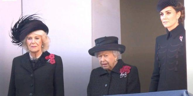Queen Elisabeth Remembrance day 2019 BBC