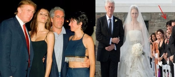 Epstein Pedophilia Trump Clinton Getty HErland Report