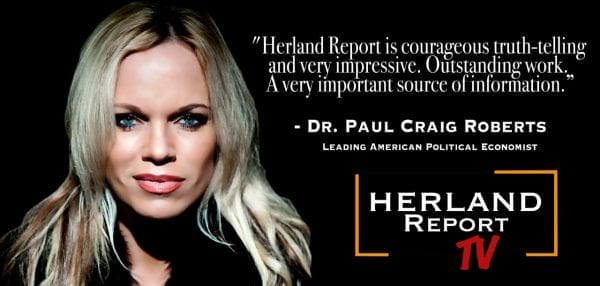 The peculiar hatred of Russia and Vladimir Putin: Feature banner Herland Report YouTube Robers quote