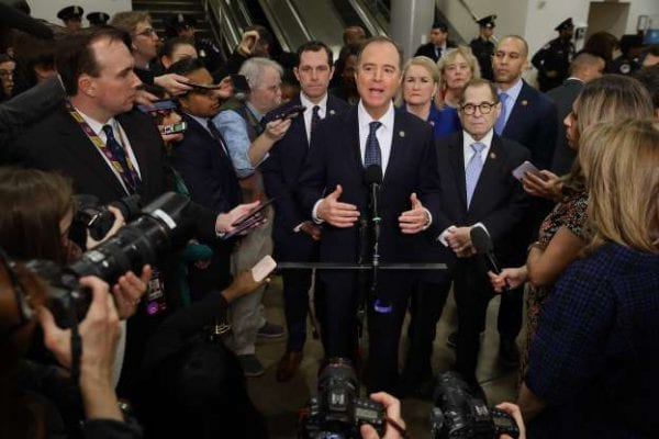 Adam-Schiff-and-House-Impeachment-Managers-Getty Adam Schiff history of inaccuracies