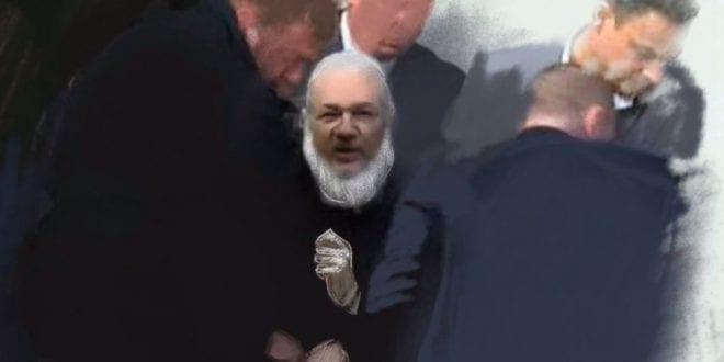 Belmarsh Prison Inmates Help Julian Assange Julian-Assange-Ruptly-Catelyn-Johnston
