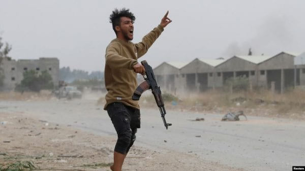 Libya 2020, government loyalist in war torn country