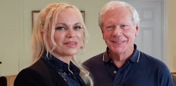 Dr. Paul Craig Roberts with Hanne Nabintu Herland, founder of the Herland Report