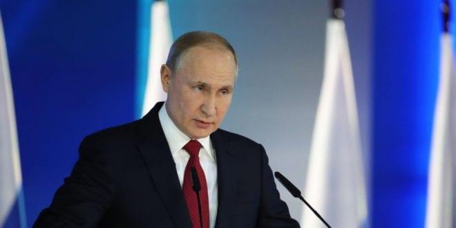 Censorship Is Killing America: Putin's Radical Reforms Putin 2020 state of the nation adress January Kremlin Photo