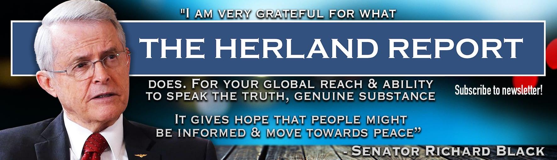 Bill Gates vaccine dictatorship plan, Messianic complex: Herland Report banner
