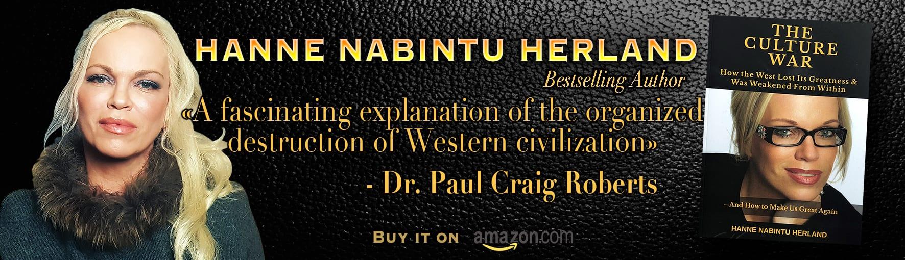 Culture War Hanne Nabintu Herland banner