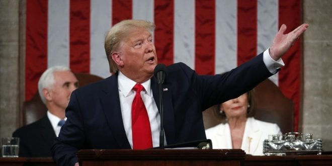 Conservative National Values Resurrection: DailyNewsMax-donald-Trump-state-of-the-union-pelosi