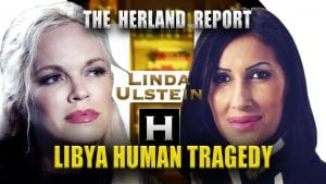 Heartbreaking humanitarian tragedy in Libya. Herland Report Linda Ulstein