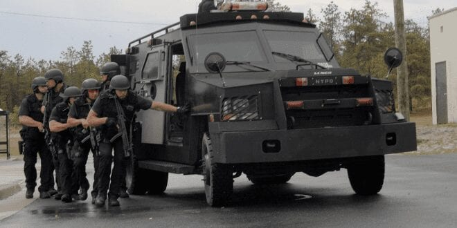 The Militia Militarization of US Police Force: Militarization-of-police-john-whitehead