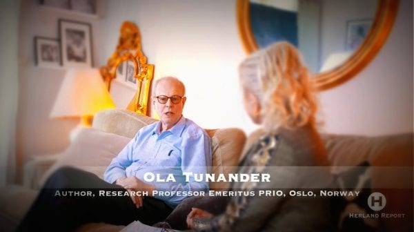TV intervju Ola Tunander om Libya