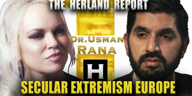 Atheist Extremism and Intolerance in Europe. Mohammad Usman Rana