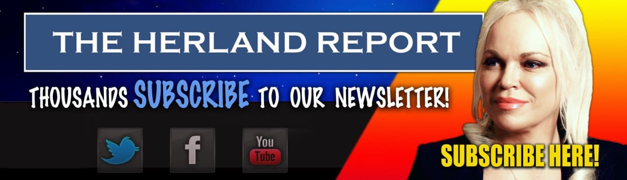 Subscribe Newsletter, Herland Report banner