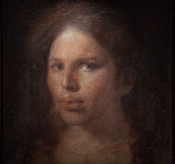 Aristotle, Meaning of Life: Caroline by Odd Nerdrum.