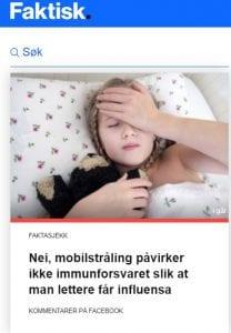 5G og influensa: Faktisk.no uansvarlig dårlig jobb: Herland Report