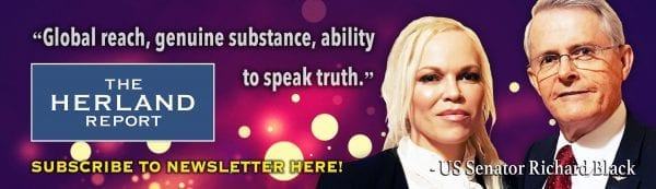 Megyn Kelly: Complete Lack Of Trust In Media: Herland Report banner, Richard Black quote