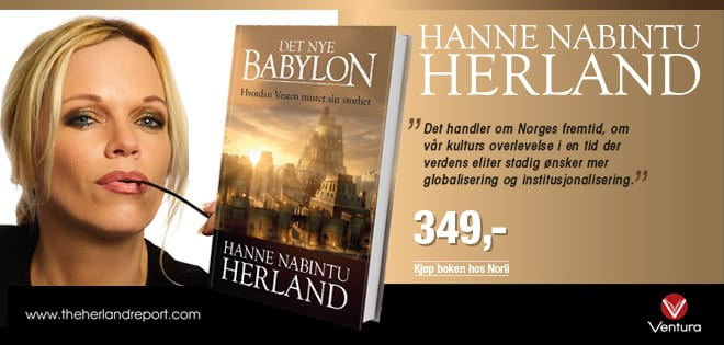Jesus Kristus enkle budskap versus sekulær kirkens politikk og maktmisbruk Hanne Herland, Det Nye Babylon.
