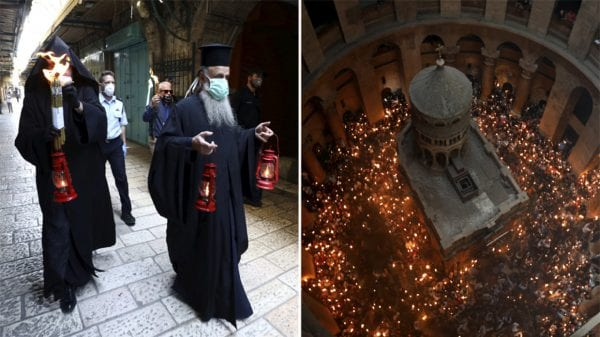 He is Risen - to all our brothers and sisters in the Orthodox world: Jerusalem. Reuters Herland Report