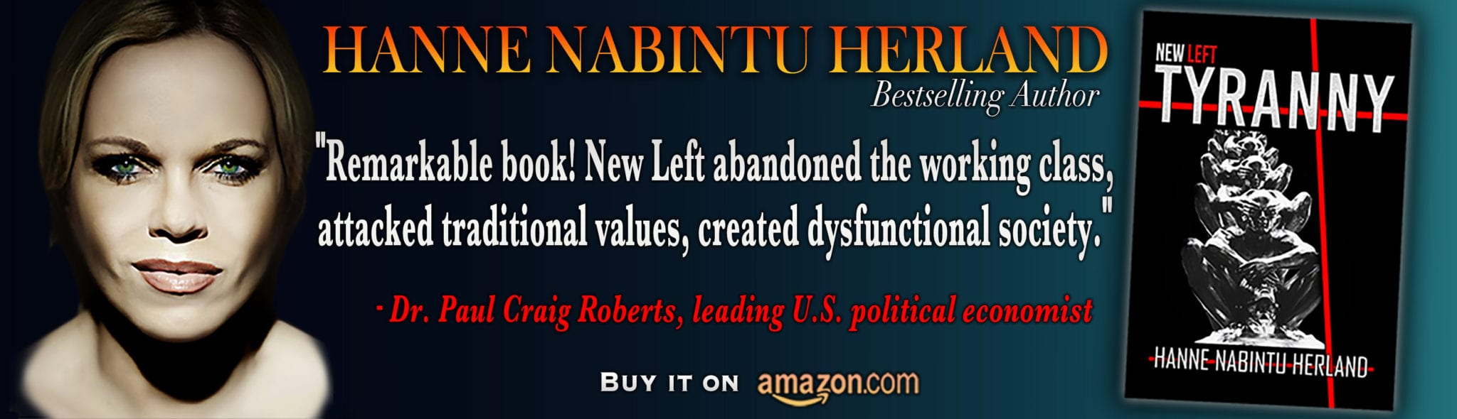 Globalist Capitalism reintroduces the feudal system with Oligarch Overlords: New Left Tyranny by bestselling author Hanne Herland.