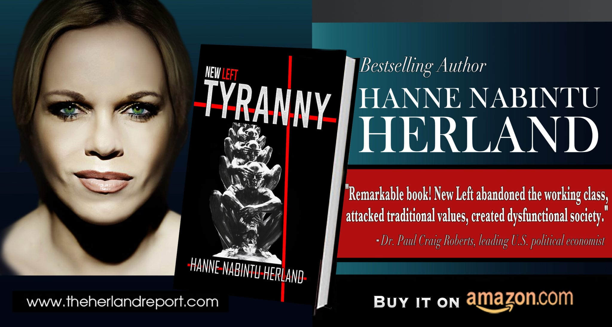 New book about Gangster State Capitalism and Returning Feudalism: New Left Tyranny, by bestselling author Hanne Nabintu Herland