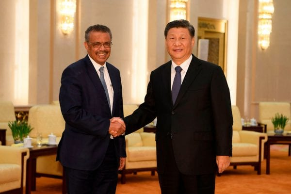 WHO Dr. Tedros and China: Everything is Going According to Plan, Herland Report: AFP