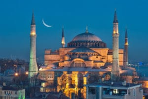 Historic Constantinople Hagia Sophia becomes Mosque, demonstrating Islamist Intolerance for Religious Plurality, Herland Report