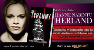 WND features New Left Tyranny: Socialism, globalism and 'robbery capitalism' now hand in hand, Hanne Nabintu