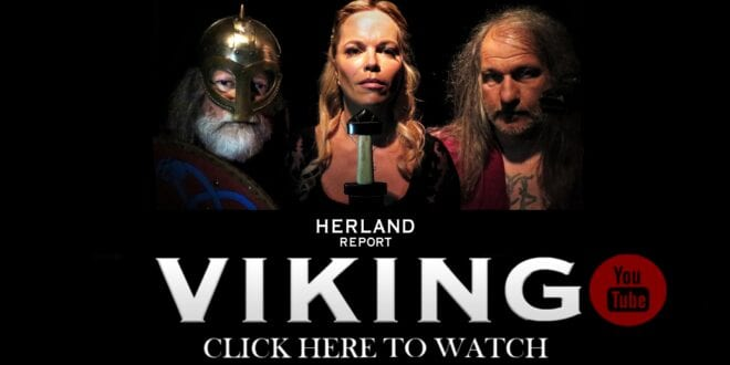 TV interview: Norse Viking Culture, Spiritual Runes, sorcery Raw Power - Lars Magnar Enoksen, Herland Report.