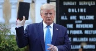 US Banana Republic mess:President Trump is the Saviour for Christians?, Herland Report Getty