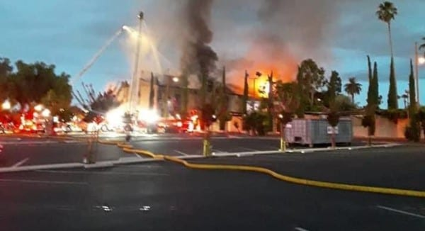 Mission St. Gabriel, California, Church burning has come to America, just like ISIS burned churches in the Middle EastUSA