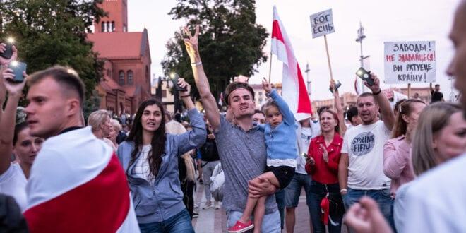 Color Revolution in Belarus threatens to destabilize Europe Belarus 2020, Getty
