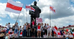 Forsøk på statskupp i Hviterussland kan destabilisere Europa, sier Bjørn Ditlef Nistad: Belarus color revolution 2020 photo Юрый Камісараў