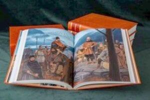 VIKING: Den brutale vikingtiden skapte Norge, hør Saga Flatøybok Torgrim Titlestad illustratør Anders Kvåle Rue