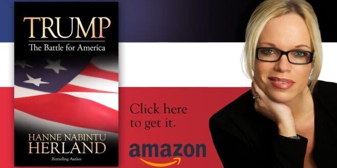 "New Book cuts through Media Rhetoric: ""Trump. The Battle for America"", Hanne Nabintu Herland"