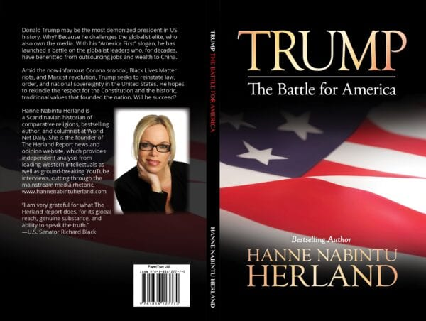 New Book Trump. The Battle for America by Bestselling author Hanne Nabintu Herland