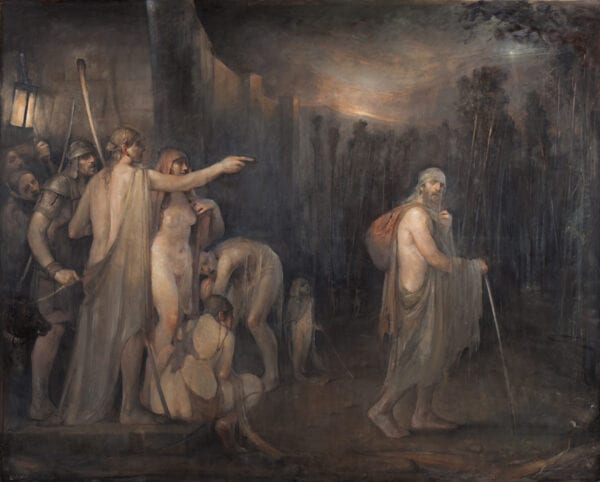 The Outcast by Odd Nerdrum. Bork Nerdrum Reveals Criteria for Best Painters in the World - Cave of Apelles, Nerdrum School