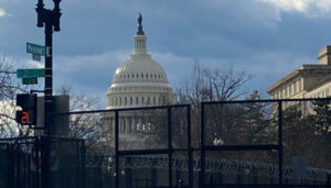 Most Popular President In US History Inaugurated In Secret Behind Giant Wall Guarded By Thousands Of Soldiers, Capitol