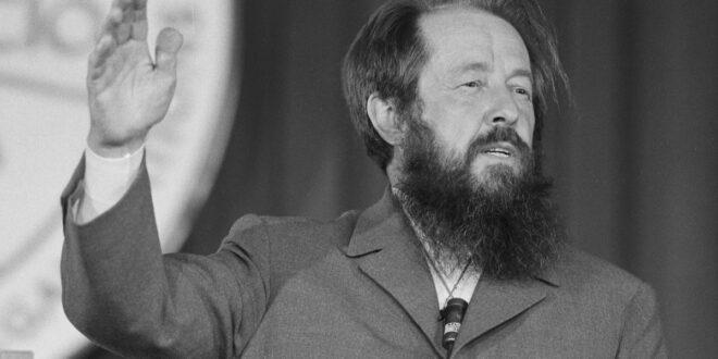 Alexandr Solzhenitsyn warned that Atheism creates Communist Holocaust: Herland Report